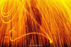 Rain of the Fire (Eduardo Rebelo) Tags: long fire rain fogo chamas fotografia longaexposição irmão brother photography photo canon canon450d eos