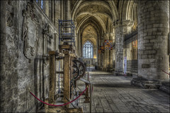 Peterborough Cathedral 16 (Darwinsgift) Tags: peterborough cathederal cambridgeshire interior hdr church atheist architecture photomatix pce nikkor 24mm f35 nikon d810 cathedral