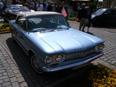 Chevrolet Corvair Convertible 1963 (Zappadong) Tags: essenkettwig 2015 chevrolet corvair convertible 1963 zappadong oldtimer youngtimer auto automobile automobil car coche voiture classic classics oldie oldtimertreffen carshow