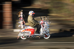 All or Nothing (Tim . Simpson) Tags: abstract chester lambretta sx sx200 chestermod lambrettapanning panning speed mod light lightandmirrors unionjack timsimpsonphotography innocenti