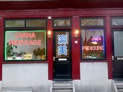 China Massage (Quetzalcoatl002) Tags: massage china chinatown amsterdam nieuwmarkt business red pedicure