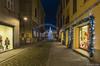 Via Contrada Montecchio Emilia (gaddi_luca) Tags: notturno street natale nuovoanno montecchio viacontrada luci alberonatalizio shopping negozi prospettiva festa
