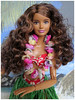 Christmas Greetings from Hawaii (Foxy Belle) Tags: barbie doll fashionistas made move skipper petite vintage hawaii lei red floral bikini tropical beach mele kalikimaka rebodied orange top dark fashionista 24 coral crazy for