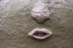 nose and mouth (troutfactory) Tags: face lips mouth nose art artwork artfestival 篠山市 sasayama 関西 kansai 日本 japan ricohgrd2 digital