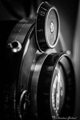 Contraption - Macro Mondays (christian.grelard) Tags: macromondays contraption compur camera photo photographie macro bw monochrome