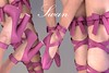 Phedora. Exclusively for Collabor88! (Celena Galli ~ phedora.) Tags: sl secondlife fashion gym chic collabor88 c88 shoes heels pointe ballet mesh slink maitreya belleza