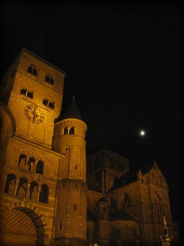 Trier Catherdral at night, Germany