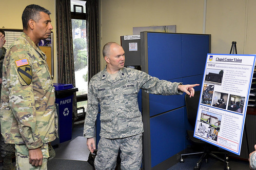51st Fighter Wing chaplain discusses improvements to Osan Air Base chapel
