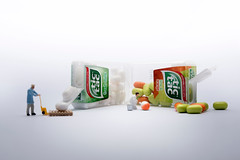 A Whitewash (abnormally average) Tags: tictac sweets mint white painter art miniature preiser ho hofigures scale 187 humour fun smallworld tinyplanet pootar souppickle spickle