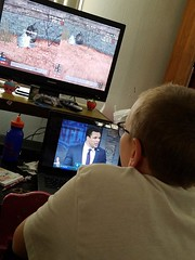 8/365 #project365 will doing what he does. Ps4 & football #gosteelers! (KayJo23) Tags: gosteelers project365