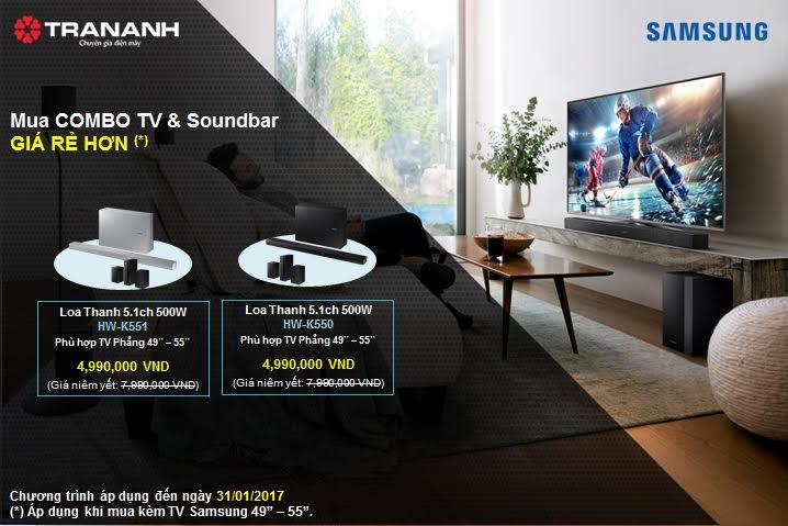 Samsung tri ân khách hàng- ngập tràn khuyến mãi