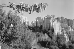 Les orgues d'Ille-sur-Têt (Jean-Michel Ravetllat) Tags: 35mmsummicronasph orgues agfaapx400 d76 illesurtêt leicamp bw landscape blackwhite paysage analog film selfdeveloped grain