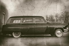 1954 Mercury Monteray Wagon (Mark ~ JerseyStyle Photography) Tags: markkrajnak jerseystylephotography newjersey monmouthcounty hellonwheels mercurymonteray tintype january2017 2017