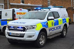 EX16 MDN (S11 AUN) Tags: durham constabulary ford ranger 22tdci limited force resilience unit fru driver training drivingschool spare police 4x4 response 999 emergency vehicle ex16mdn