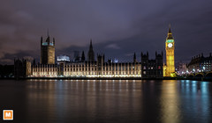 Big Ben, Westminster, London (michab100) Tags: michab100 mib mibfoto london tower bridge themse river night longexposure fujifilm fujifilmxt1 city cityline architecture wasser water reflection spiegelung nacht fluss bigben westminster palace