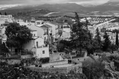 a love nest (withcamera) Tags: spain rhonda nuevobridge residentialarea rondalandscape landscape 스페인 론다 풍경