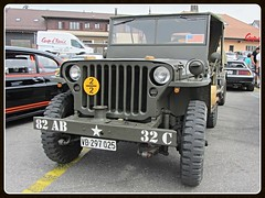 Willys MB, 1944 (v8dub) Tags: willys mb 1944 jeep military militaire militär army armée schweiz suisse switzerland fribourg freiburg american pkw voiture car wagen worldcars auto automobile automotive old oldtimer oldcar klassik classic collector