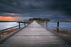 La Perouse Footbridge (-yury-) Tags: laperouse bareisland sydney nsw australia sunsise bridge