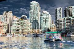 Surreal Vancouver (chrisyakimov) Tags: falsecreek aquabus explorebc granvilleisland vancity vancouver watertaxi