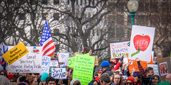 2017.01.29 Oppose Betsy DeVos Protest, Washington, DC USA 00218