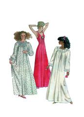 McCalls 8301 Sleepwear Pattern (FindCraftyPatterns) Tags: womensleepwear sewingpattern mccalls8301 negligee nightdress lingerie lacetrim smocking longnightgown vneckline size1012