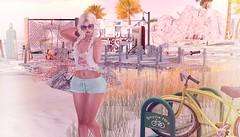 Sunny Days=Warmer Water?! (FaithA94) Tags: ~bbd~poses wredziaa rezology teefy beach summer outfit secondlife