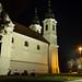 Tihany Abbey in the night
