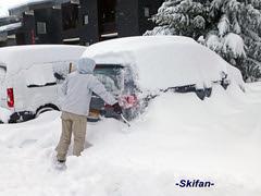 Déneigement (-Skifan-) Tags: jetay lesmenuires neige parkingjettay 3vallées les3vallées skifan