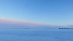 IMG_0773 (savillent) Tags: tuktoyaktuk northwest territories canada travel cold winter snow ice sky moon lunar full landscape arctic climate environment north photography point shoot canon sx700 savillent february 2017