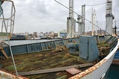 """DIDA"" - IMO 7327902 (Rick Vince) Tags: dida imo7327902 fishingvessel fishingship axexo puertodelaspalmas trawler sterntrawler maritimadelmusel"