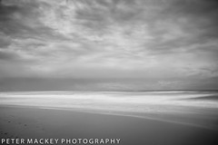Peregian Beach with morning cloud (Peter_Mackey thanks for 800,000 views) Tags: queensland bnw ndfilter d7100