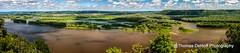 Pikes Peak Panorama Iowa (Thomas DeHoff) Tags: panorama river mississippi sony peak iowa pikes a700