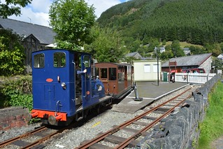 On the Corris Railway