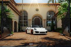 Porsche Turbo S ADV7 Track Spec CS Series (ADV1WHEELS) Tags: street red track wheels deep gloss rims luxury spec forged concave stance 2014 oem polishedaluminum matteblack 3piece 1piece adv1 glossred forgedwheels adv7 deepconcave trackspec advone advancedone 21x95 21x125