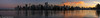 Coal Harbour Sunset (Robert Henrickson) Tags: sunset panorama vancouver cityscape britishcolumbia canadaplace coalharbor reflectionstanleypark