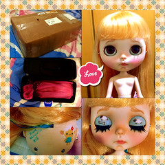 Momento unboxing - Blythe Ice Rune :: Dolly (Custom Simone Albergaria)