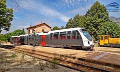 Corse, Bocognano, la gare -2- (LOUIS TOSSER) Tags: france train de gare corse chemin fer voie sncf cfc autorail mtrique