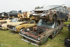 Horopito scrapyard 2015 (Dave.Kirwin) Tags: car scrapyard newzealand2015 horopitoscrapyard
