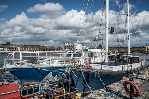 DUBLIN DOCKLANDS AREA [21 SEPTEMBER 2015] REF-10805486
