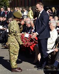 Mr Neil Coyle, MP (© Freddie) Tags: london bermondsey se1 lbsouthwark oldjamaicaroad queens warmemorial rededicationqueensmemorial pwrr poppy fjroll ©freddie 72cadetdetatchment 72bermondseydetachmentacf thebermondseytigers