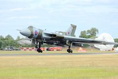 RIAT 2015 Avro Vulcan B2 XH558 (iggieboo2009) Tags: britain spirit great landing airbus b2 vulcan chute avro fairford riat 2015 xh558 airbrakes