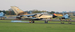 Return (hanley27) Tags: fighter force aircraft air jet landing german l f56 tornado runway canon400mm rafleeming