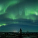 My first northern lights pano