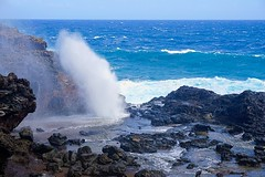 Nakalele Point Blow Hole (#KPbIM) Tags: ocean life trip november vacation fall nature fun death hawaii dangerous waves view hole pacific sony vacuum maui blow adventure alpha pressure 6000 nakalelepoint мауи гавайскиеострова