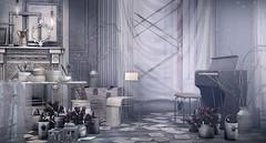 Home Decor: White Space (Blanche Foxclaw) Tags: soy damselfly floorplan reverie keke treschic aptb noconcept kibitz on9 haikei essenz applefall deaddollz ku