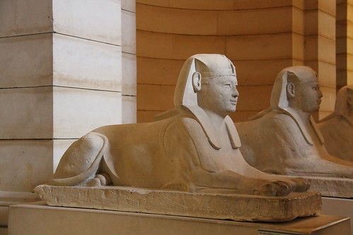 One of Six Sphinxes
