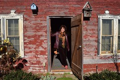 Fall, Deb, Garden, Chicken coop doorway, farm country (Tatiana12) Tags: fall country farm 2015 annarbor michigan chickencoop debnystrom garydeb album christmasletter travel lifetravel favorites family