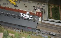 Gare d'Etampes en 14-18 en HO 1/43 (gueguette80 ... Définitivement non voyant) Tags: train miniature novembre expo eisenbahn rail railway ho 187 echelle cergy 2015 pontoise modelisme