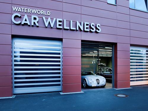 Прозорі швидкі ворота. Прозрачные скоростные ворота. Hi speed clear doors. EFAFLEX_Waterworld_076