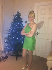Tinkerbell (Elysia in Wonderland) Tags: christmas tree green costume bell cosplay events tinkerbell disney pixie fairy tinker marvellous